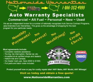 Nationwide Warranties