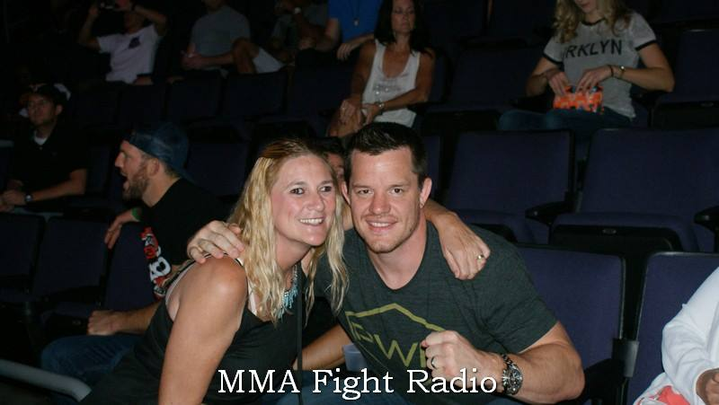 Penny Buffington and CB Dollaway - UFC - MMA Fight Radio