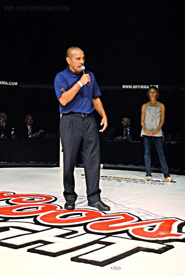 MMA Fight Radio  In studio guests  Thom Ortiz  former Coach for Arizona State University Wrestling Program and former owner of WFF - World Fighting Federation