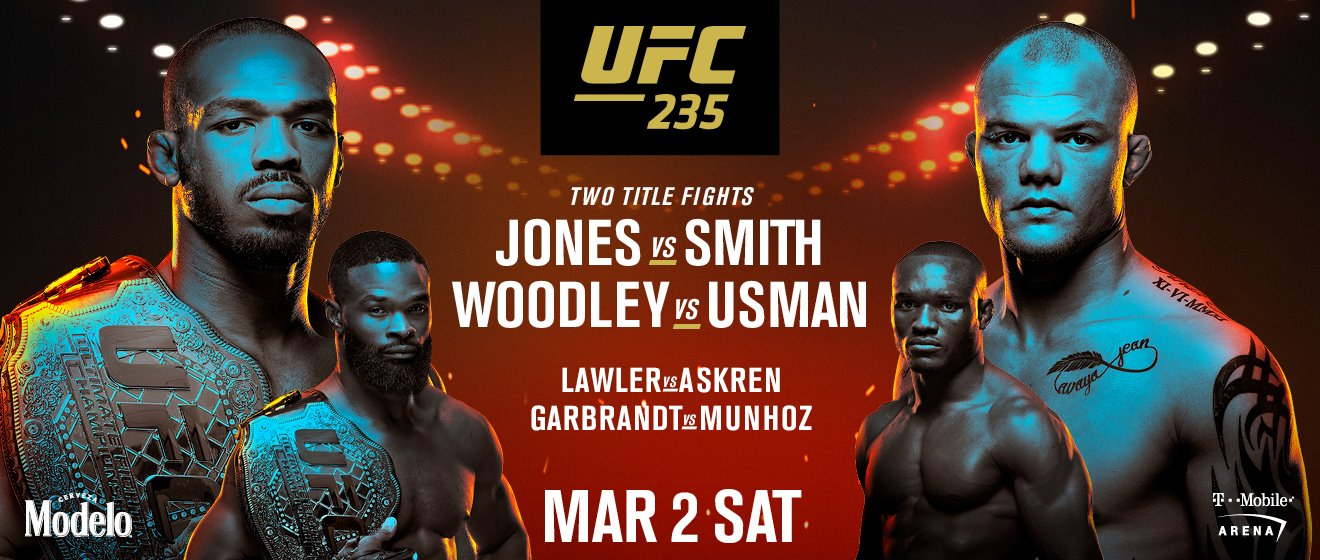 UFC 235 2 Title Fights = MMA Fight Radio -