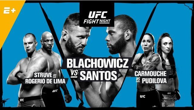 UFC+Fight+Night+-+Blachowicz+vs+Santos