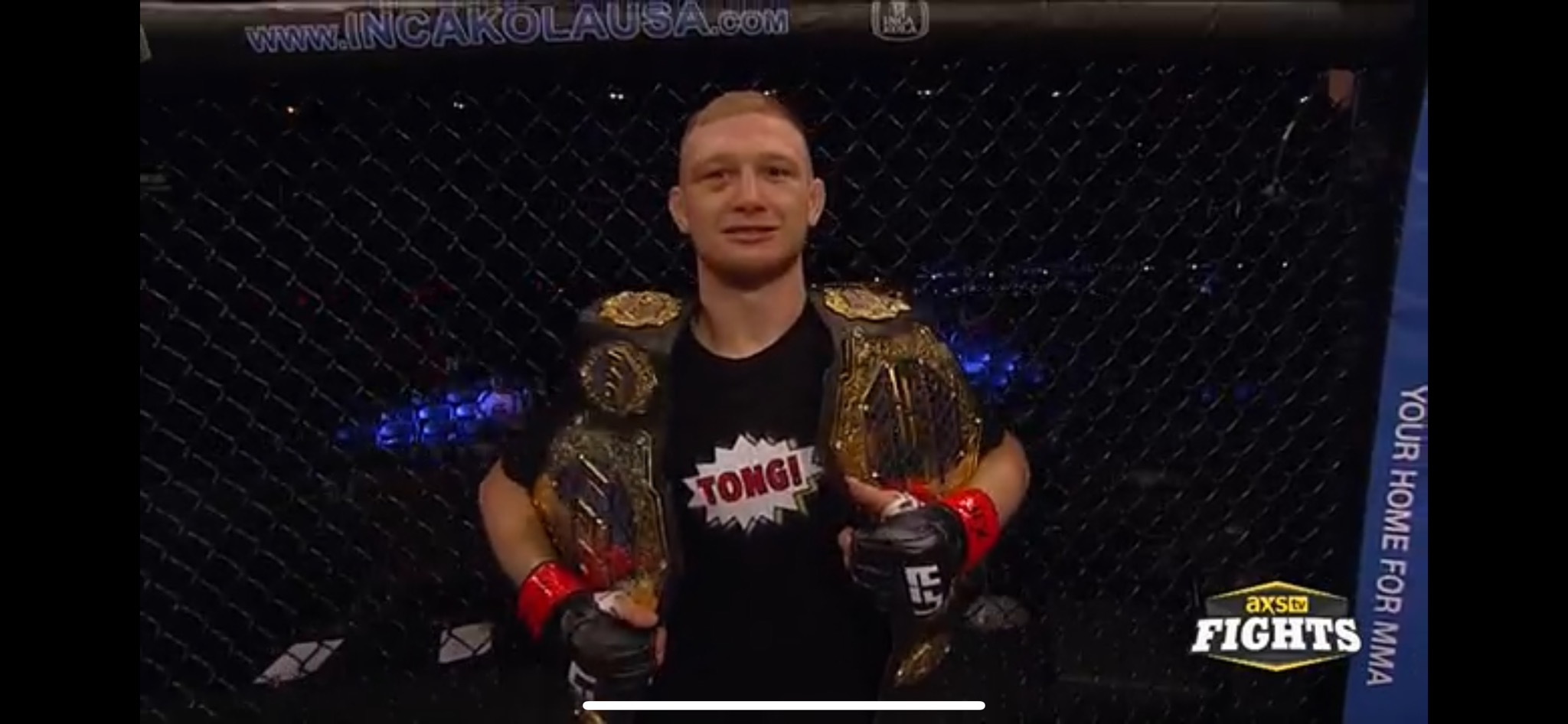 Casey Kenney LFA , interim Bantamweight title holder , as of March 21 , as well as being LFA , interim Flyweight Champion! , HELLO UFC