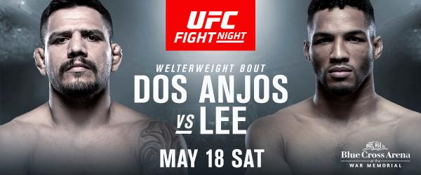 UFC Fight Night Dos Anjos vs Lee - MMA Fight Radio
