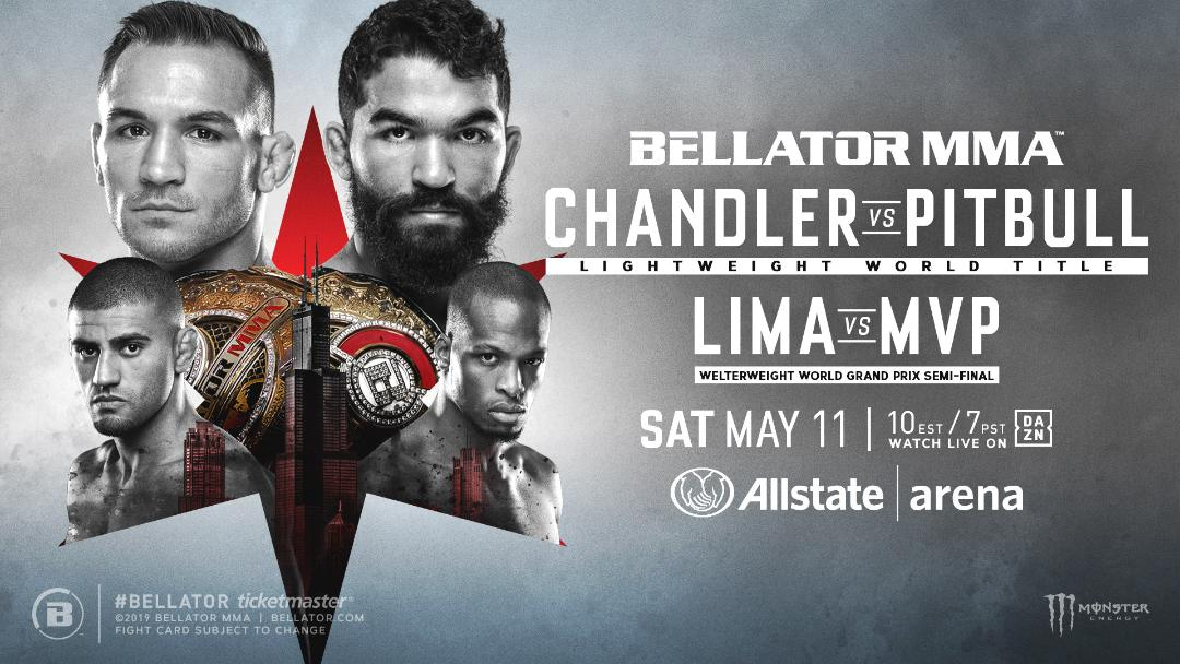 Bellator MMA Chandler vs Pitbull - MMA Fight Radio