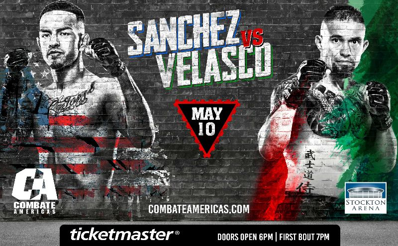 Combate Americas Sanchez vs Velasko May 10 - MMA Fight Radio