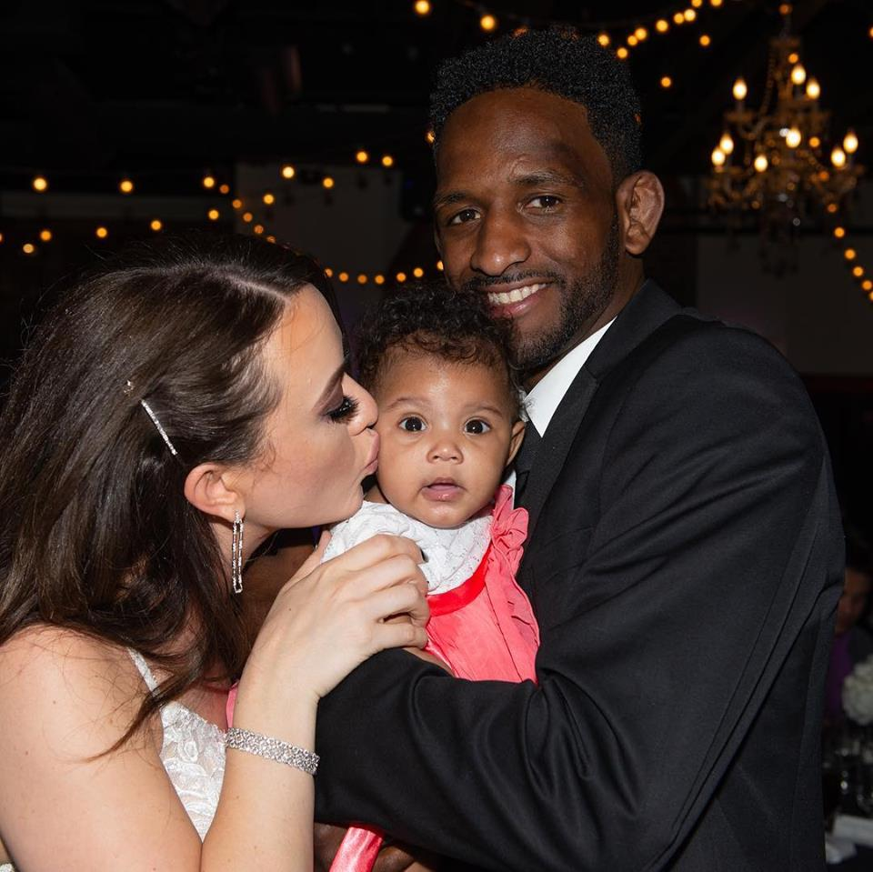 Neil Magny and family - facebook page - MMA Fight Radio