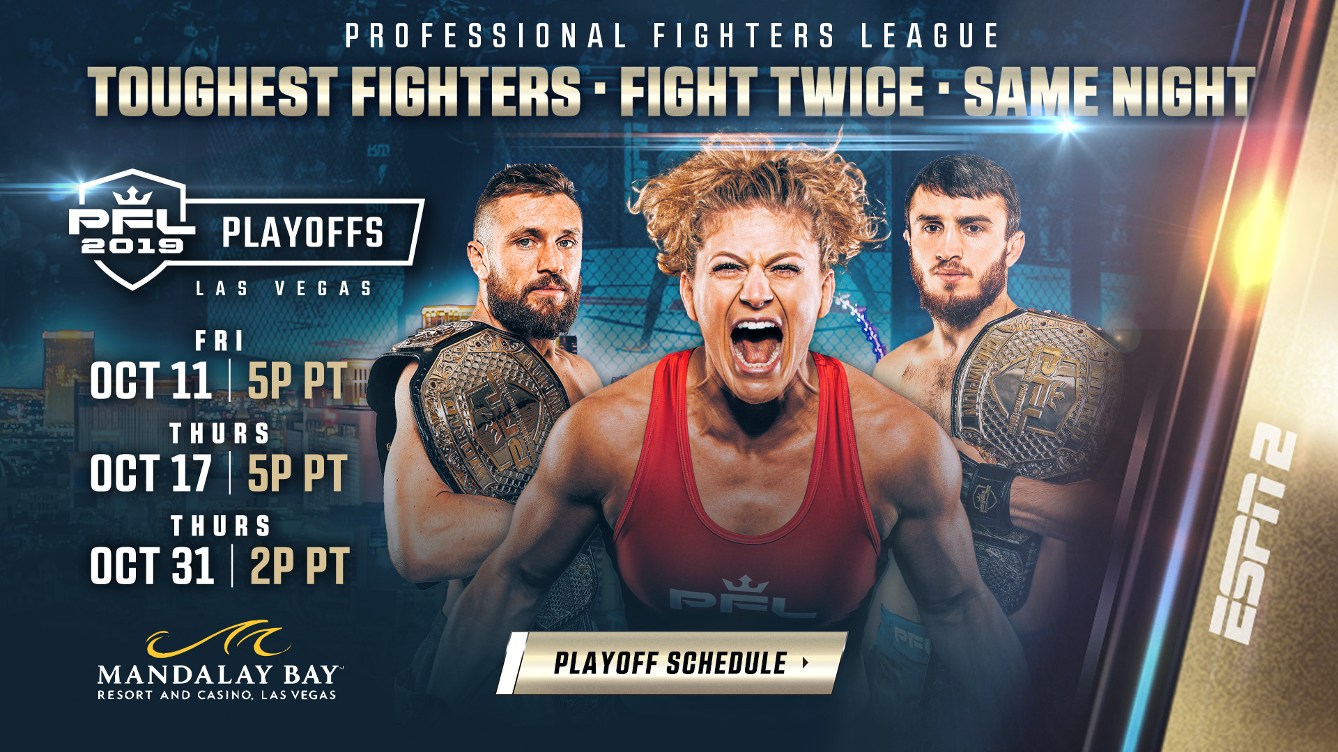 PFL = MMA Fight Radio
