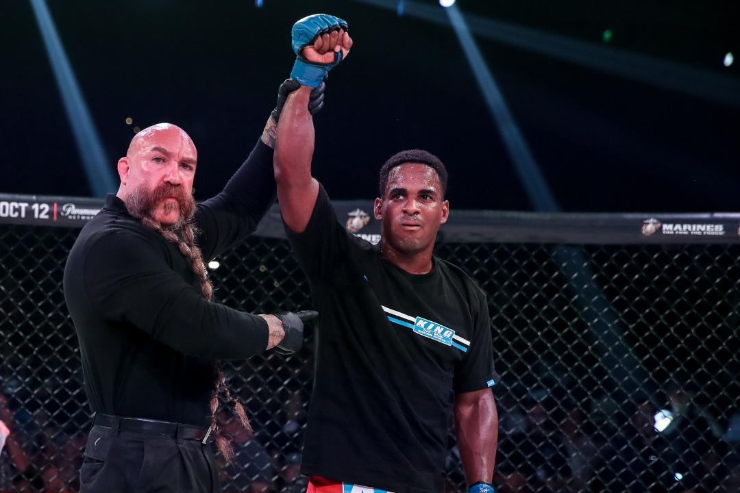 Bellator MMA win Lorenz Larkin - MMA Fight Radio