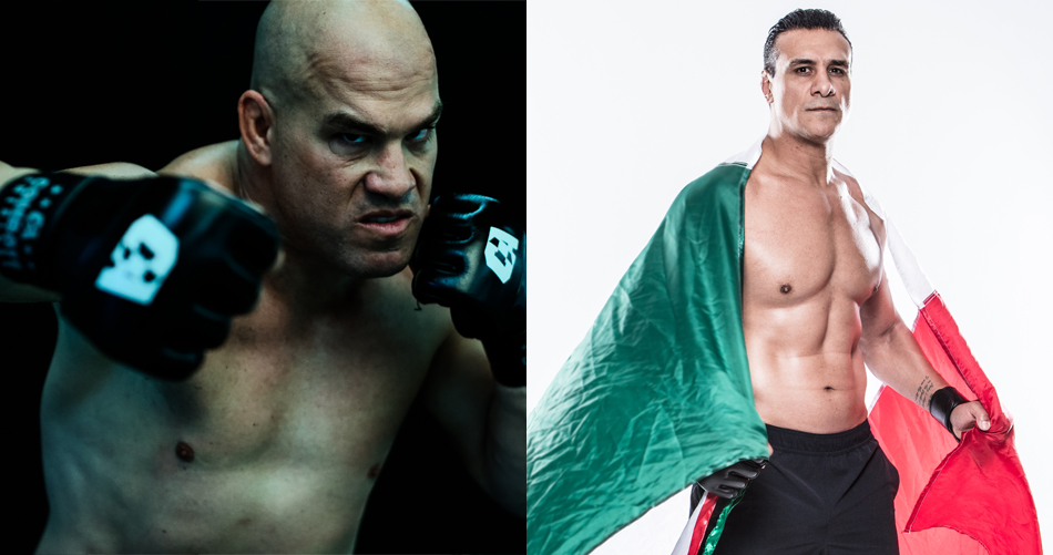 MMA Fight Radio - UFC Hall of Famer Tito Ortiz (left) will square off with multiple-time WWE Heavyweight Champion and former PRIDE MMA star Alberto El Patron in Combate Americas