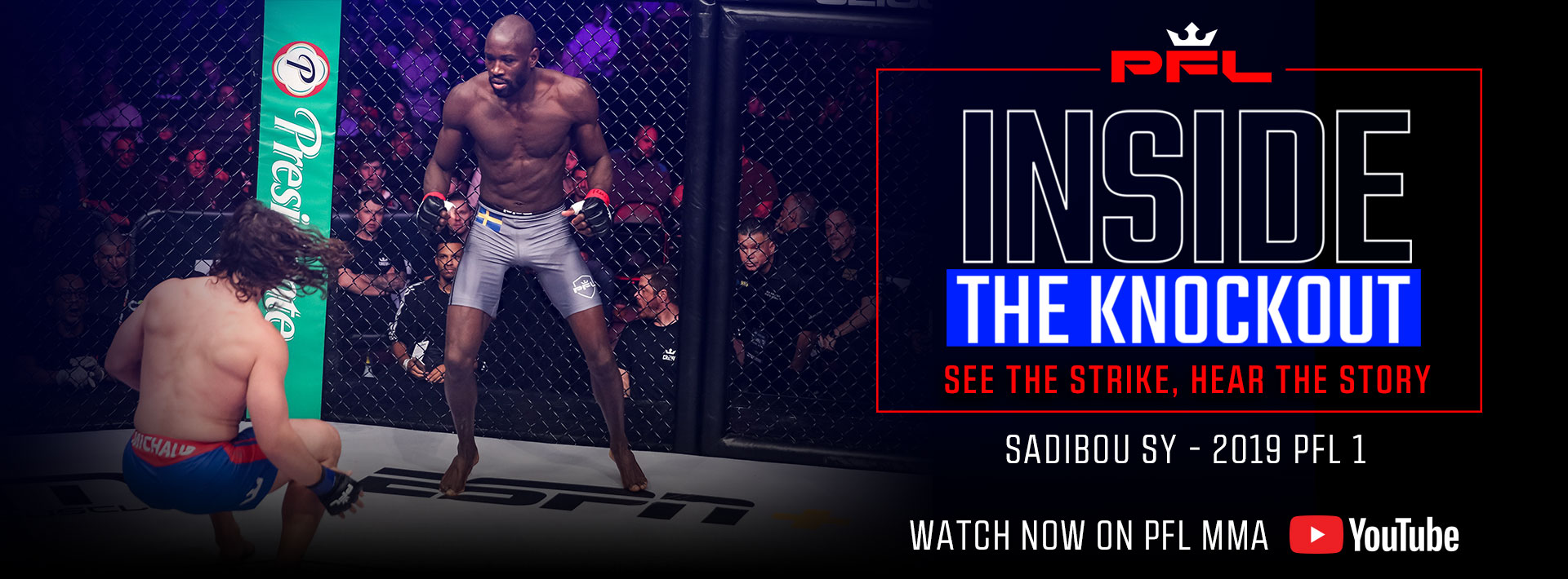 "Professional Fighters League Launches Three New Episodes Of ""Inside The Knockout"", ""Run It Back"", and ""MMA At Home"" This Week"