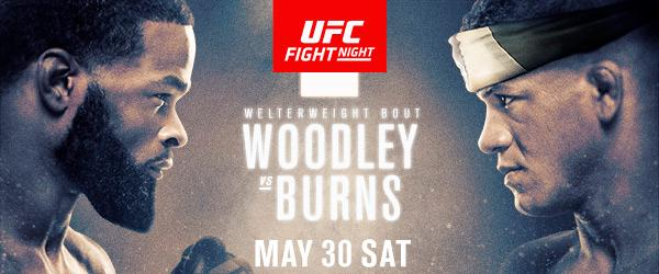 UFC Fight Night Woodley vs Burns - MMA Fight Coverage