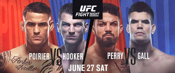 UFC Fight Night Poirier vs Hooker n MIKE PERRY vs. MICKEY GALL - MMA Fight Coverage