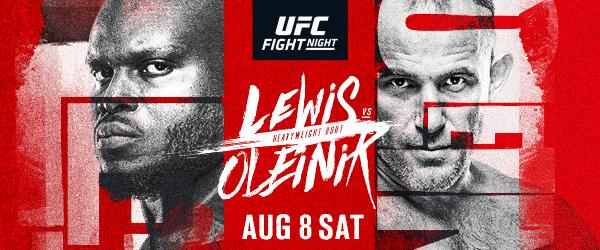 UFC Fight Night Lewis vs Weidman - MMA Fight Coverage