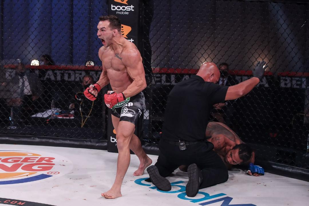 Bellator MMA Chandler vs Henderson 2 Fight Results KO- MMA Fight Coevrage