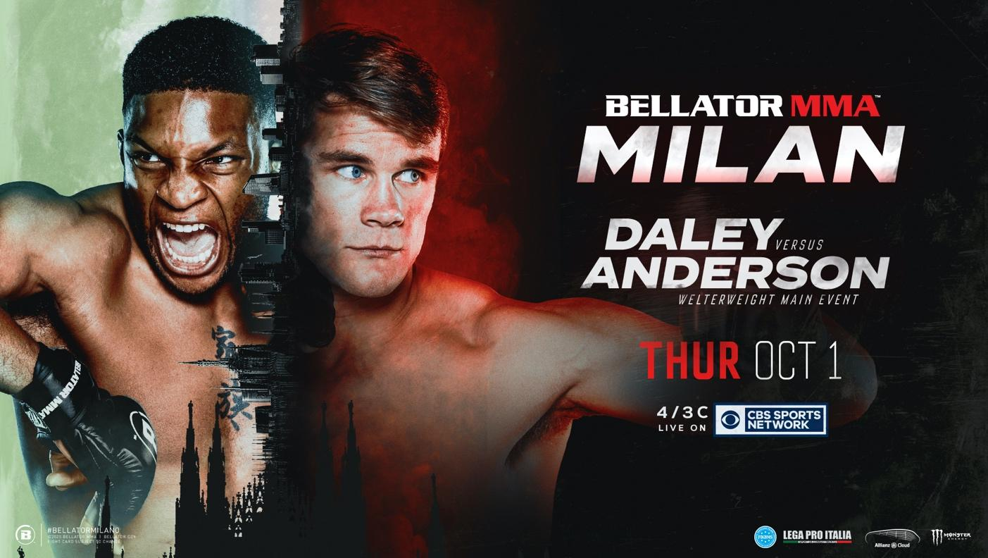 BELLATOR MMA CONFIRMS FULL FIGHT CARD FOR FIRST EVENT ON CBS SPORTS NETWORK
