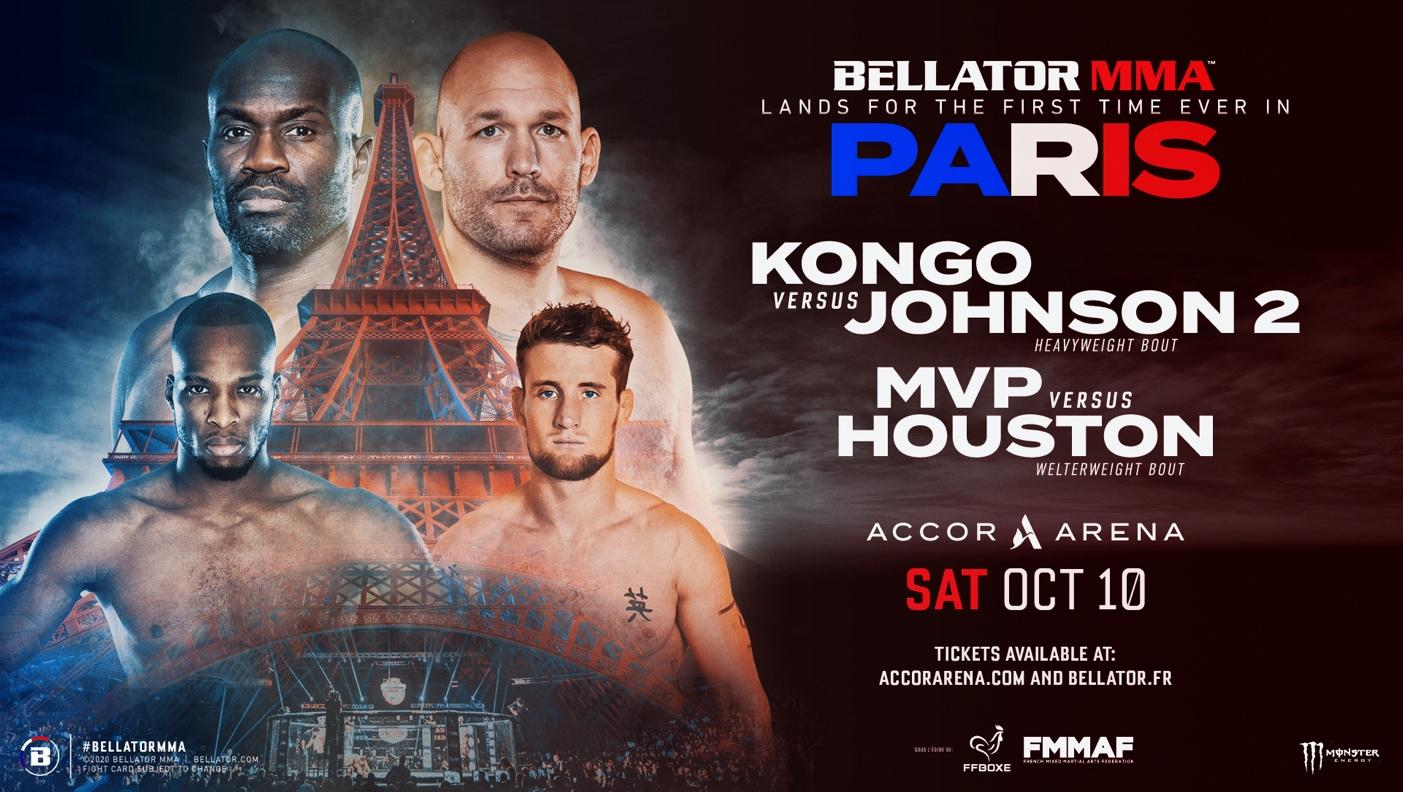 Bellator MMA Paris Kongo vs Johnson 2 - MVP vs Jouston - MMA Fight Coverage