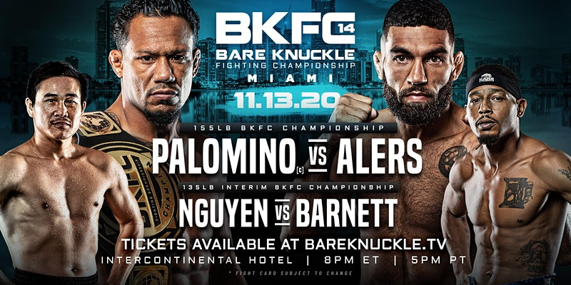 BKFC Palomino vs Alers - MMA Fight Coverage