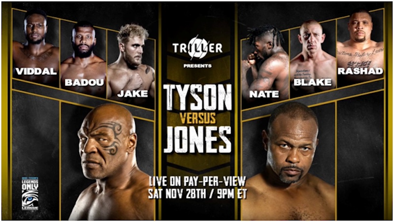 Mike Tyson vs Roy Jones JR – How to Watch – Weigh In Photo's – INFO