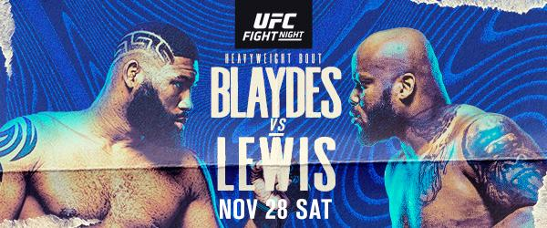 UFC Fight Night Blaydes vs Lewis - MMA Fight Coverage - How to Watch