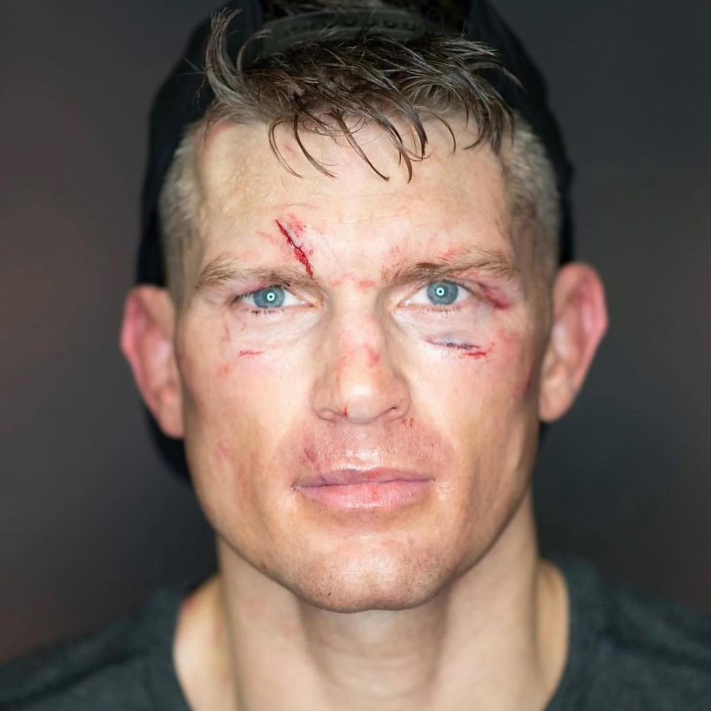 Wonderboy Cool Pic - MMA Fight Coverage - From his FB page