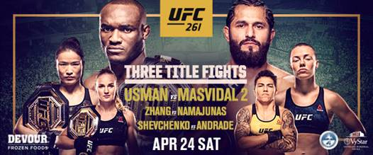 UFC 261 3 Title Fights - Press Conference - MMA Fight Coverage