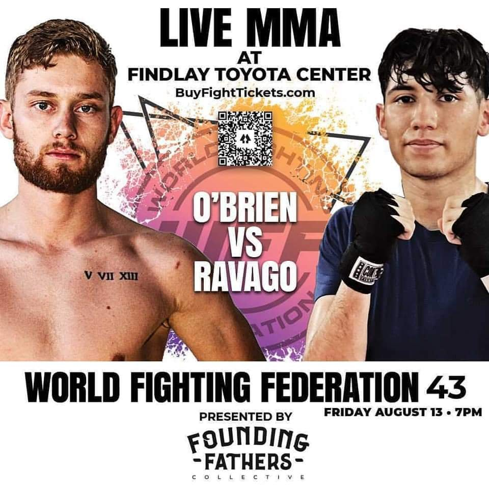 Carlos Ortiz from MMA Fighting Coverage lays out multiple interviews ahead of World Fight Federation 43