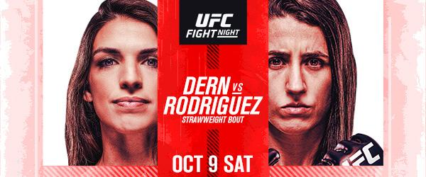 TOP STRAWWEIGHT CONTENDERS UFC Fight Night Dern vs Rodriguez
