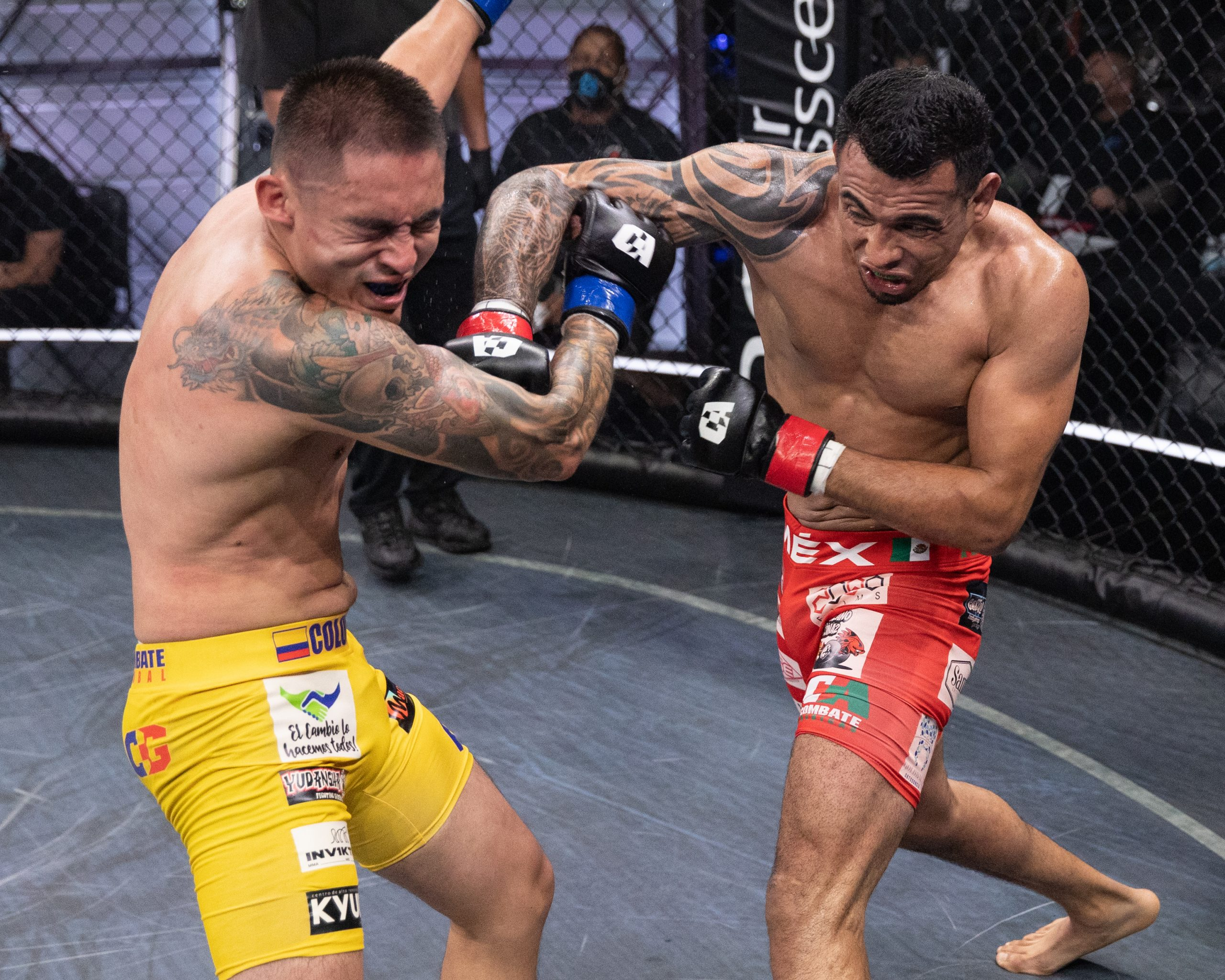 Combate Americas - six bout main event oct 8 - mma fight coverage